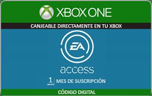 EA Access mejor precio 1 mes