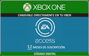 EA Access mejor precio 12 meses