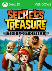 Portada de Secrets And Treasure: The Lost Cities