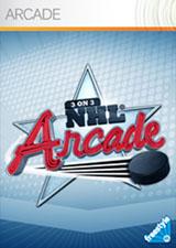 Portada de 3 on 3 NHL Arcade