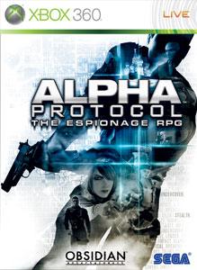Portada de Alpha Protocol