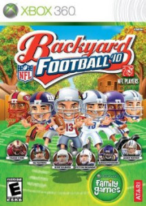 Portada de Backyard Football '10
