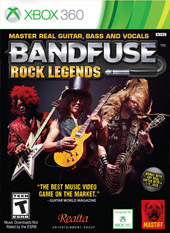 Portada de BandFuse: Rock Legends
