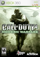 Portada de Call of Duty 4: Modern Warfare