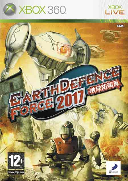 Earth Defense Force 2017 Games With Gold de junio