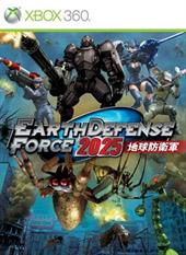 Portada de Earth Defense Force 2025