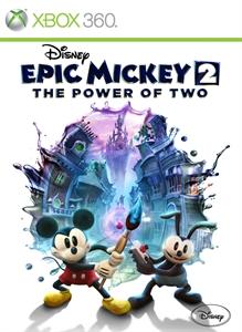 Portada de Disney Epic Mickey 2: El retorno de dos héroes