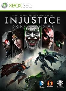 Portada de Injustice: Gods among us