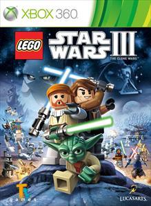 Portada de LEGO Star Wars III: The Clone Wars