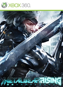 Portada de Metal Gear Rising: Revengeance