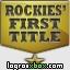 Consultar guías para el logro 'Rockies' First Title'