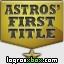 Consultar guías para el logro 'Astros' First Title'