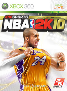 Portada de NBA 2K10