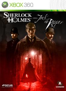 Portada de Sherlock Holmes Versus Jack the Ripper