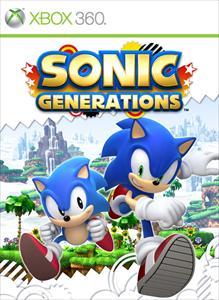 Portada de Sonic Generations