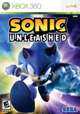Portada de Sonic Unleashed