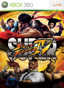 Portada de Super Street Fighter IV