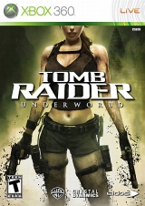 Portada de Tomb Raider Underworld