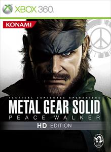 Portada de Metal Gear Solid: Peace Walker HD