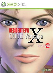 Portada de Resident Evil Code: Veronica X HD