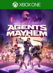 Portada de Agents of Mayhem