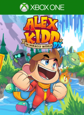 Portada de Alex Kidd in Miracle World DX