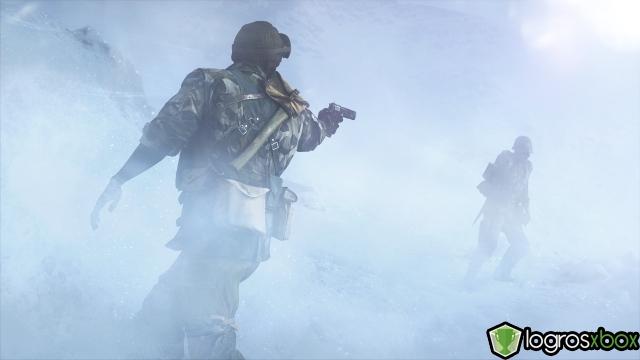 En multijugador, elimina a 10 enemigos con armas secundarias en una ronda.