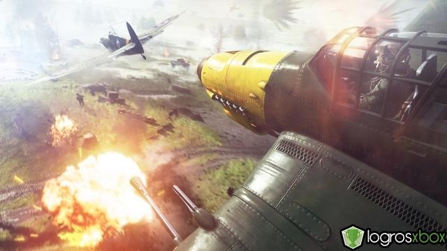 En multijugador, destruye 5 armas fijas con un avión mientras estén siendo operadas.