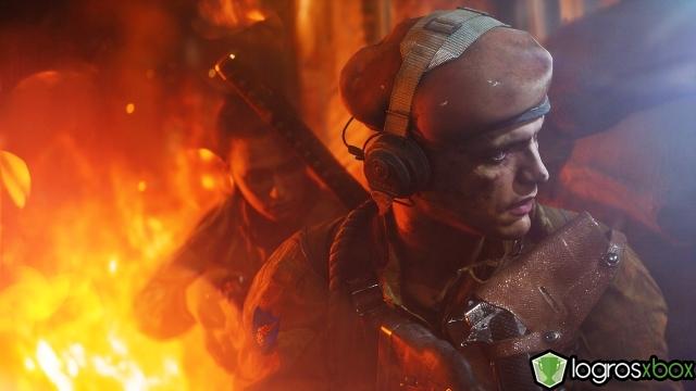 En multijugador, realiza fuego de contención sobre 5 enemigos.