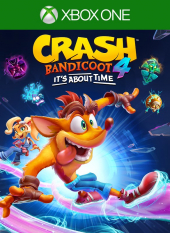 Portada de Crash Bandicoot 4: It's About Time