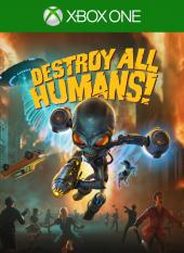 Portada de Destroy All Humans!