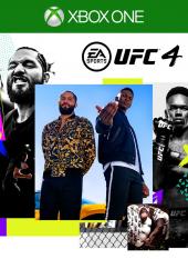 Portada de EA Sports UFC 4