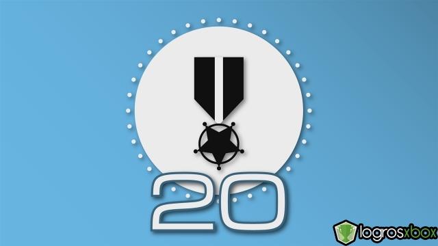 Personaliza tu tarjeta de jugador del juego con esta insignia y título.