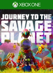 Portada de Journey to the Savage Planet