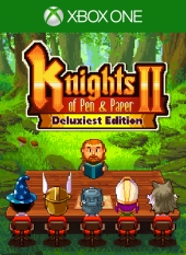 Knights of Pen & Paper 2 Deluxiest Edition Games With Gold de abril