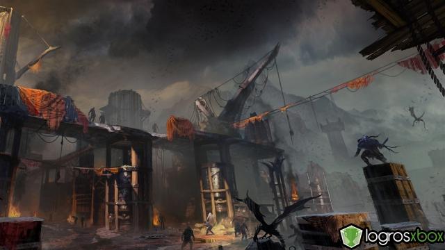 Las forjas de Udûn trabajan para armar a los uruks para la conquista de la Tierra Media.