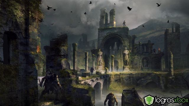 Las fortalezas de Gondor se han derrumbado y llenado de sombra.