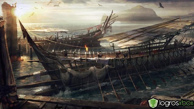 Piratas que han sido el azote de la costa del Mar de Núrnen por siglos.