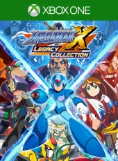 Portada de Mega Man X Legacy Collection