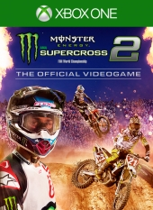 Portada de Monster Energy Supercross: The Official Videogame 2