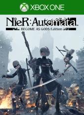 Portada de NieR: Automata Become As Gods Edition