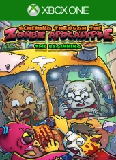 Portada de Scheming Through the Zombie Apocalypse: The Beginning