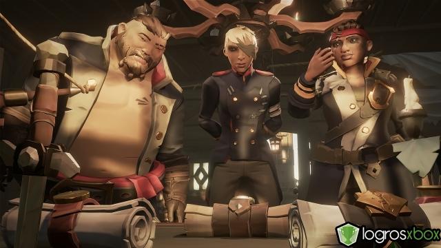 Has votado el viaje de un camarada de tripulación y habéis partido juntos a la aventura.