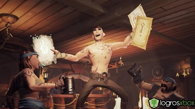 Vomita sobre un pirata que blande una espada.