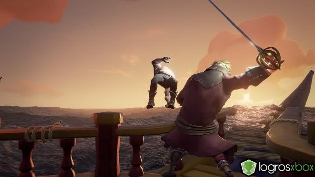 Tira del barco aun miembro de otra tripulación con un ataque potente.