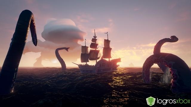 ¡Has derrotado a un kraken y has vivido para contarlo!