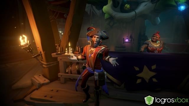 En la arena, participa en un duelo usando todos los colores de barco.