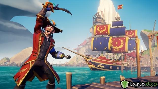 Recibe elogio por clasificarte en primer lugar 100 veces en la arena como leyenda pirata.
