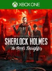 Portada de Sherlock Holmes: The Devil's Daughter
