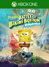 Portada de SpongeBob SquarePants: Battle for Bikini Bottom - Rehydrated